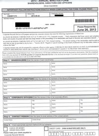 Corporate Records Service