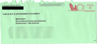 Corporate Records Envelope