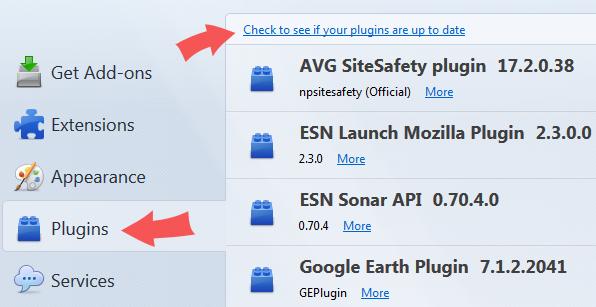 Check Firefox Plugin Vulnerabilities