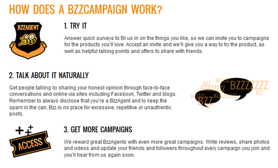 How does BzzAgent work?