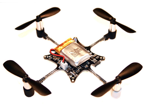 The Crazyflie Nano Quadcopter.