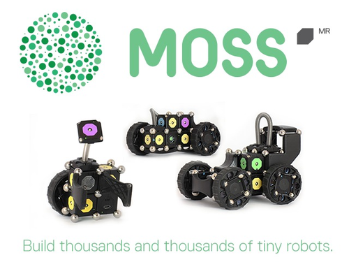 Moss, the tiny robots.