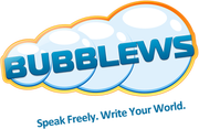 The Bubblews logo.