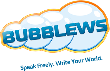 The Bubblews logo.
