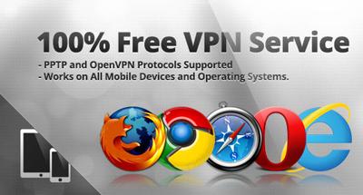 Free VPN service through VPNBook.