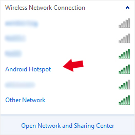 how to use phone as hotspot android